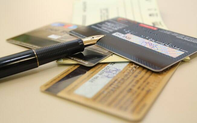 cheque e cartão de crédito