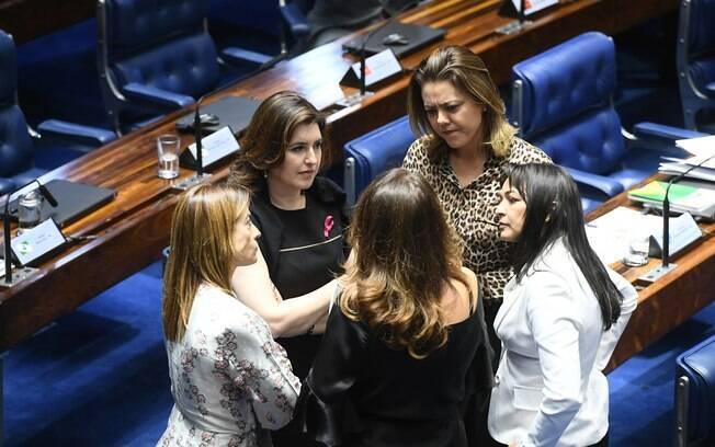 Senado tem 12 senadoras atualmente