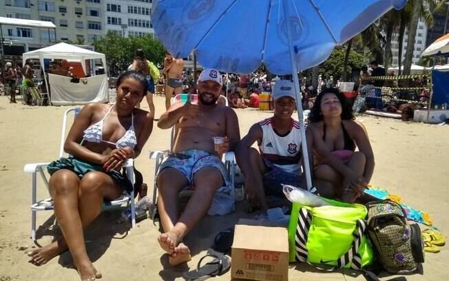 Turistas em Copacabana