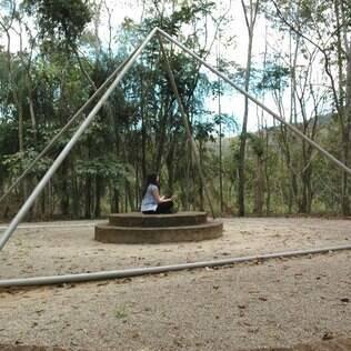 Pousada Canto da Floresta tem um parque místico