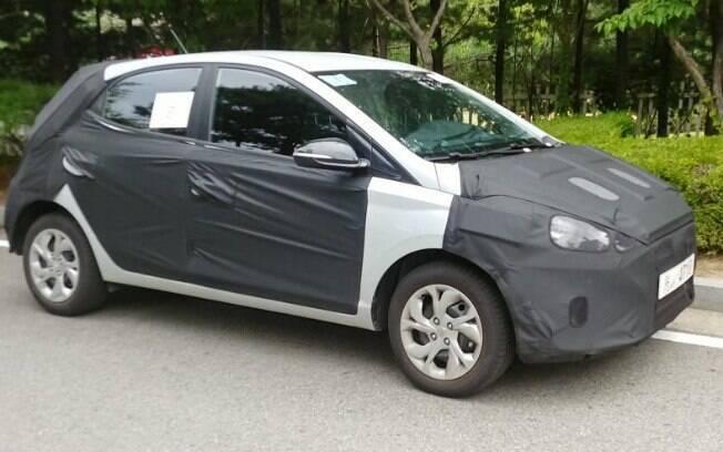 Um flagra do Hyundai HB20 sugere que o modelo está pronto para chegar ao mercado automotivo