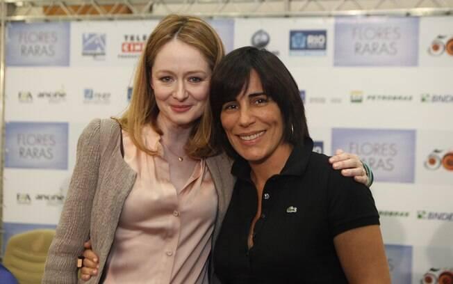 Miranda Otto, na foto com Glória Pires: 'Tenho fome de bons papéis femininos'