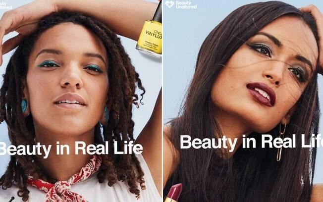 A campanha da rede de farmácias americana CVS quer inspirar as mulheres a valorizarem a beleza natural de cada uma