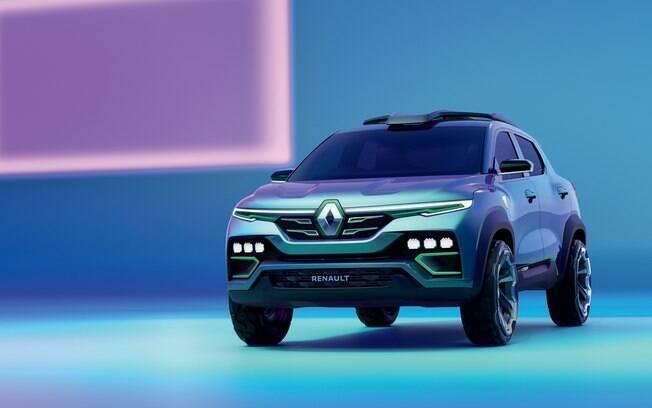 Conceito do Renault Kiger, apresentado no início de 2020; modelo de produção manterá 80% do design do protótipo