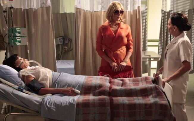 Tereza Cristina engana enfermeira
