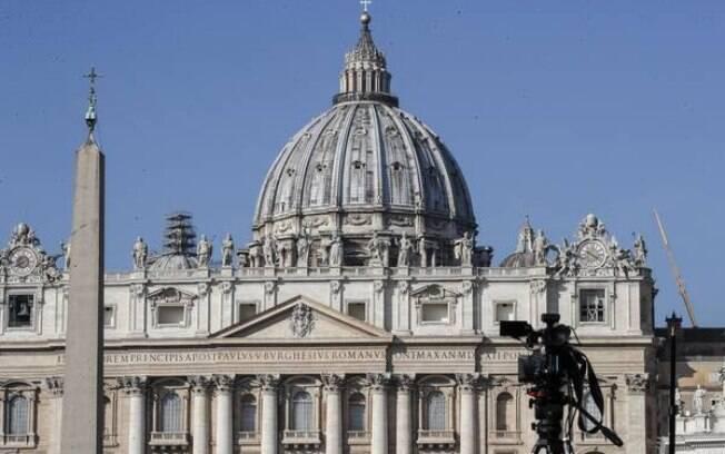 Praça São Pedro, no Vaticano