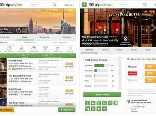 TripAdvisor traz informações de viagem, voos e hotéis. Grátis para Android e iPhone/iPad