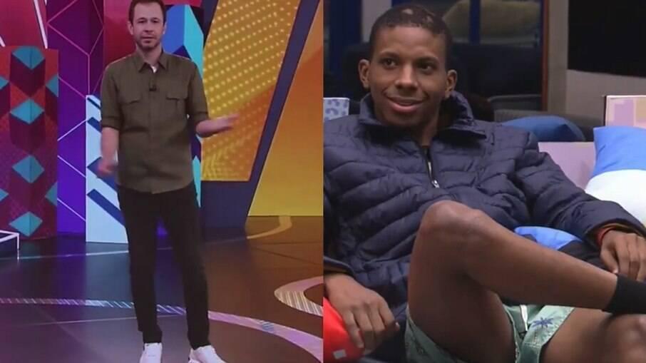 Boninho revela que Tiago Leifert pediu para falar com Lucas Penteado