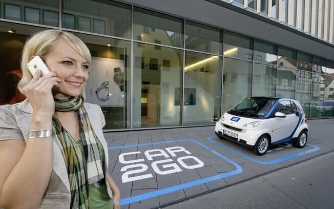 A Mercedes-Benz conta com o sistema Car2Go na Europa desde  2008 e já tem 1,2 milhão de clientes