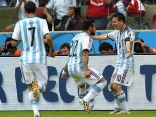 Ezequiel Lavezzi é uma das armas do poderoso ataque da Argentina nesta Copa do Mundo