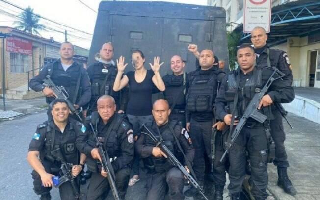 Equipes do 14 BPM e 41 BPM libertam mulher mantida em cárcere sob ameaças de um criminoso na Vila Vintém