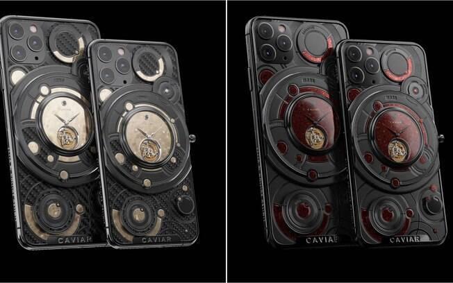 iPhone com ouro sai bem caro