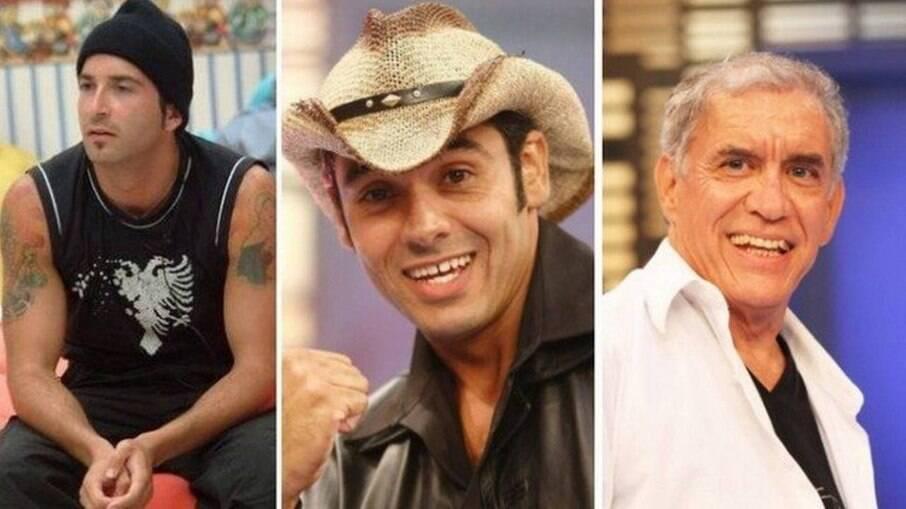 Edílson Buba, André Almeida (Caubói) e Norberto Carias dos Santos