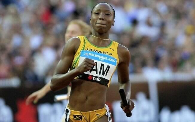 Sherone Simpson - também jamaicana foi pega  no doping com a mesma substância do compatriota  Asafa Powel