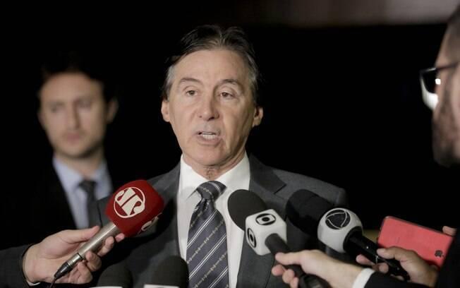 Presidente do Senado, Eunício de Oliveira ocupará a Presidência da República interinamente até domingo