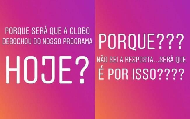 Rodrigo Faro desabafou sobre piada feita pelo programa