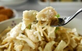 Espaguete integral à moda do chef
