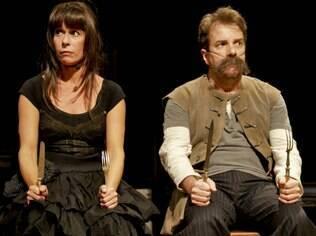 Andréa Beltrão e Augusto Madeira no musical