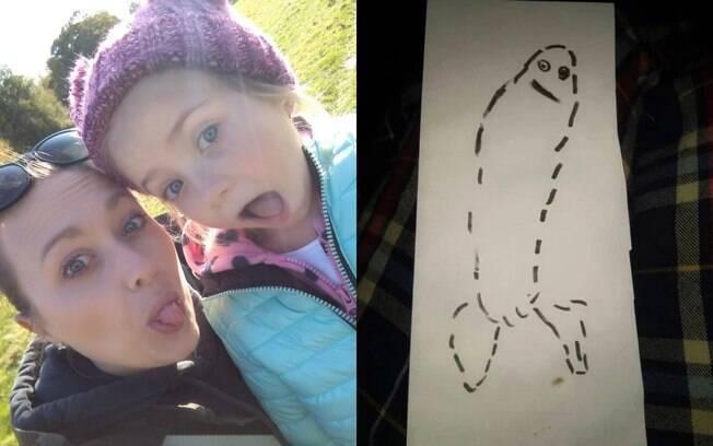 Kirsty e Megan e o desenho