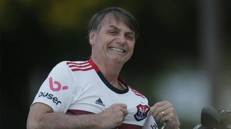 Bolsonaro deseja ter presidente do Flamengo como vice em 2022, diz jornalista