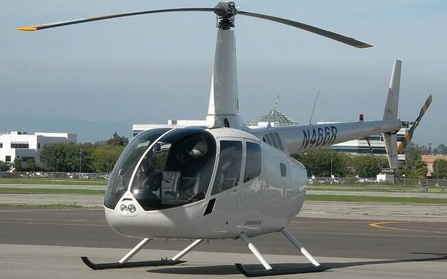Helicóptero pode fazer viagens curtas ficarem mais rápidas