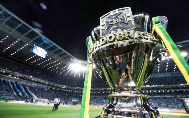 Palmeiras ganhou  três vezes a Copa do Brasil (1998, 2012 e 2015)