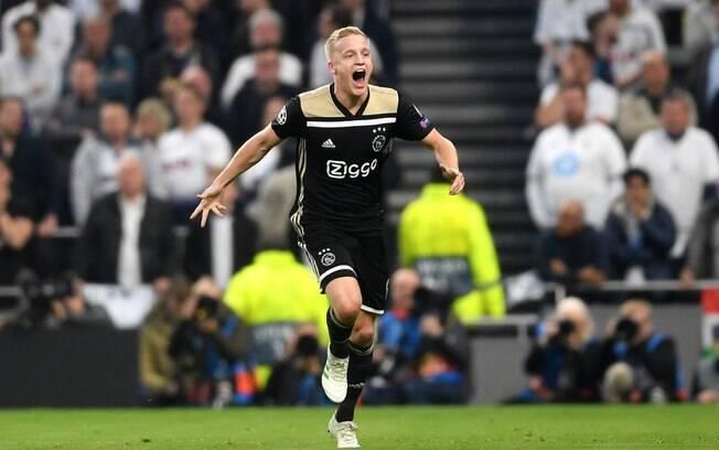 Partida entre Ajax e Tottenham, na semifinal da Liga dos Campeões, é o destaque da agenda do futebol desta quarta-feira