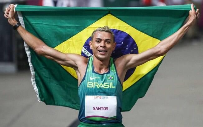 Altobeli Santos é ouro no Pan de Lima