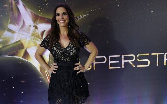 Ivete Sangalo na final do 'SuperStar', na Globo