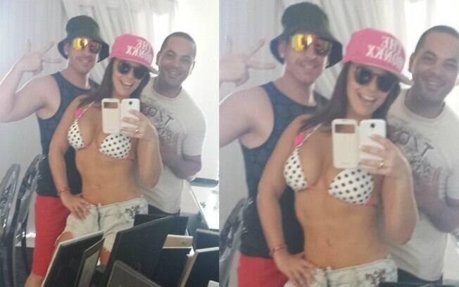 Viviane Araújo mostrou o corpão ao dizer que vai curtir a praia