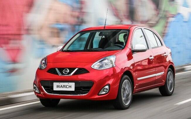 Nissan March é o representante japonês entre os populares que formam a lista dos seminovos mais vendidos