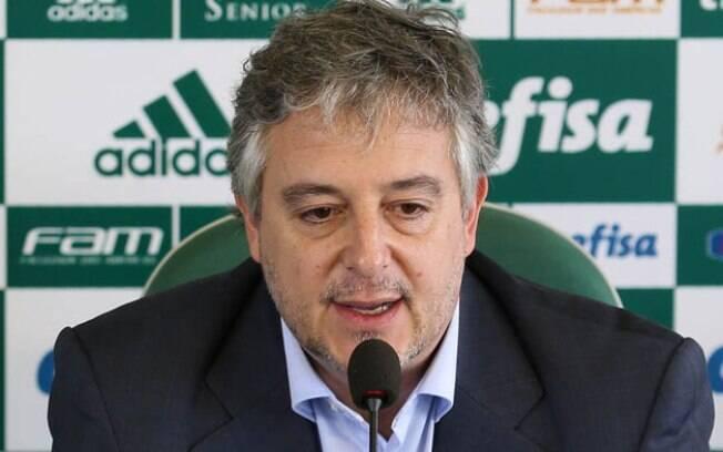 Paulo Nobre, ex-presidente do Palmeiras