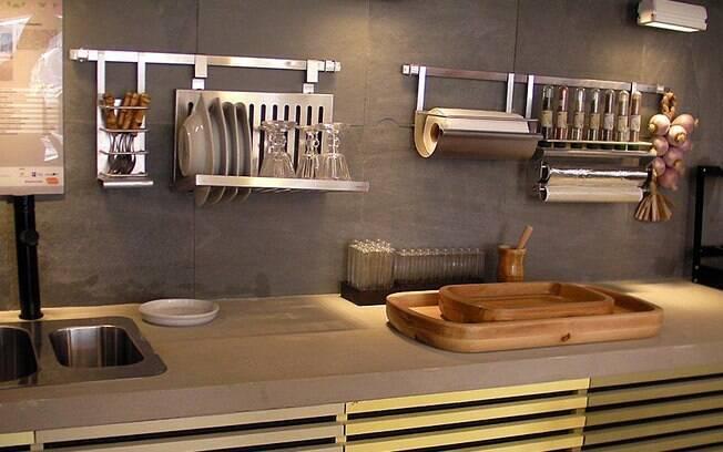Ideias para deixar a casa linda com objetos e materiais - Interiores de armarios leroy merlin ...