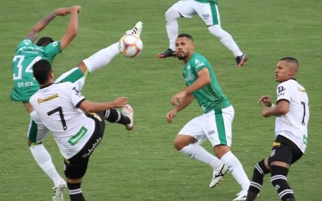 Guarani empata com o Figueirense por 2 a 2
