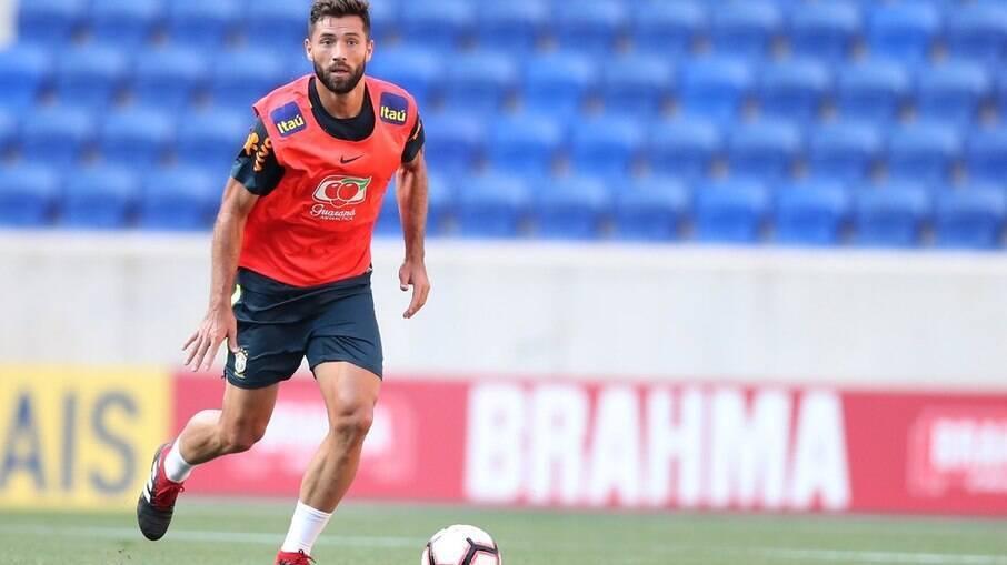 Felipe volta a ser convocado para a seleção brasileira