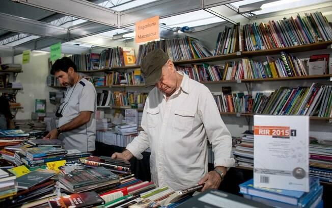 Feira Nacional do Livro acontece entre os dias 20 e 27 de maio