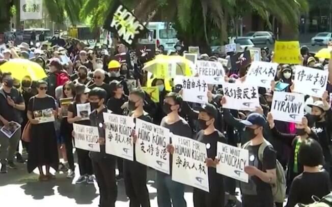 Uso de máscaras em protestos é ponto de discussão