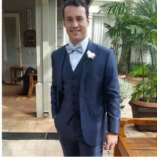 Rodrigo Andrade se casa com a empresária Joyce de Paulo