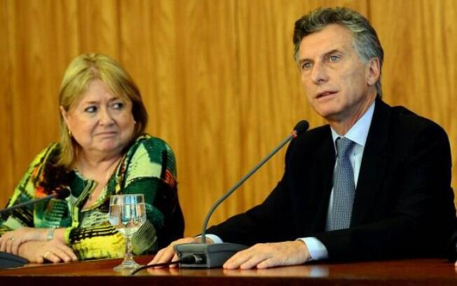 Susana Malcorra (ao lado do presidente argentino Maurício Macri) se diz animada com possível acordo Mercosul-UE