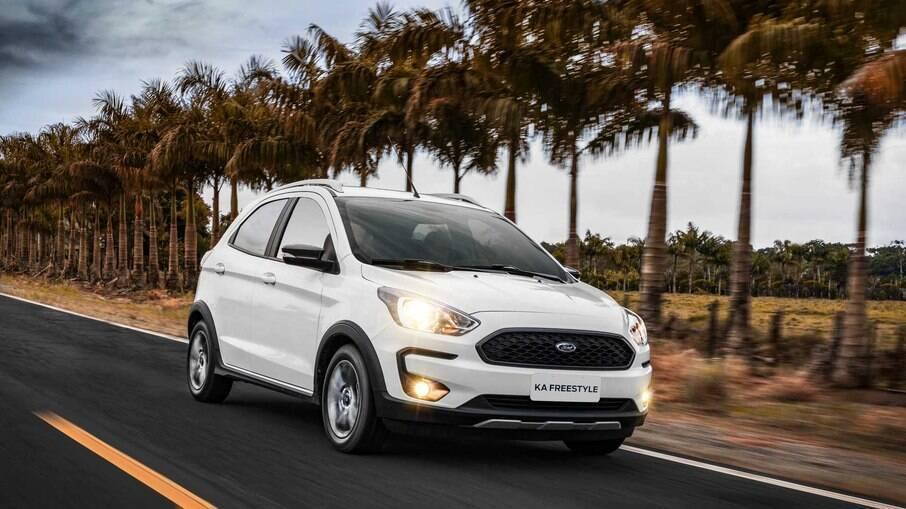 Ford Ka :entre os consumidores propensos a trocar de marca, 24% optaram por um modelo da Chevrolet