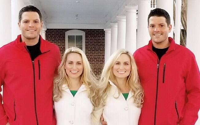 Além do pedido simultâneo e das alianças iguais, os quatro pretendem viver juntos após o casamento
