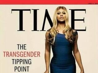 Laverne Cox foi capa da edição de junho da revista 'Times'