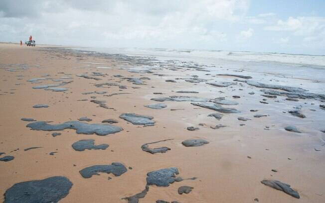 manchas de óleo