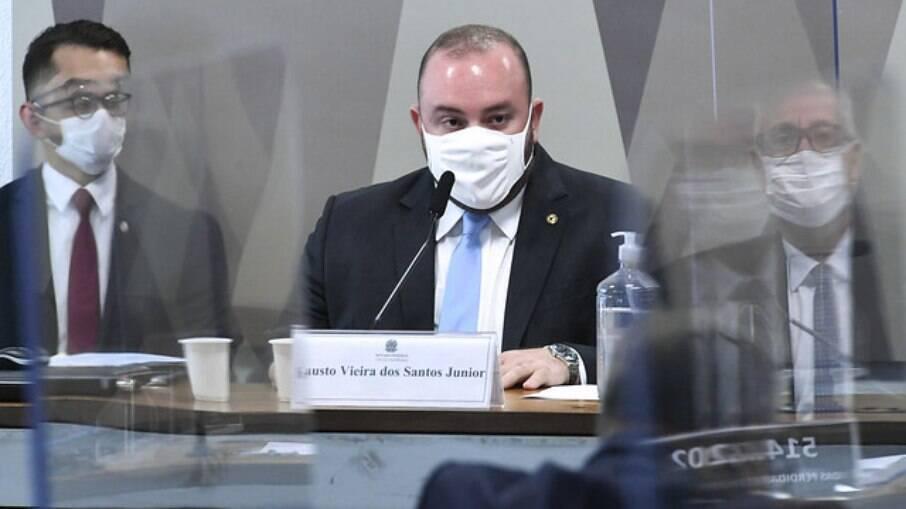 Deputado estadual do Amazonas Fausto Junior na CPI da Covid