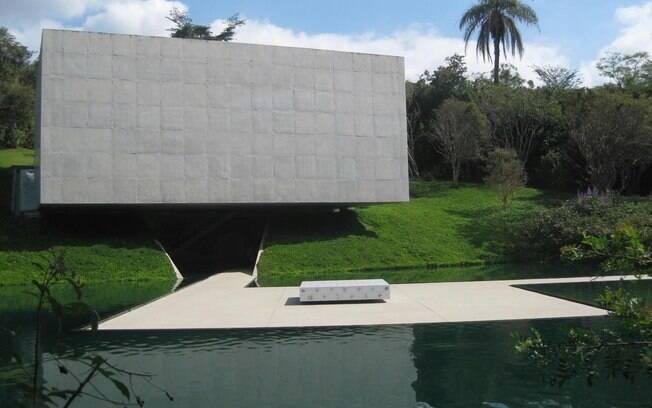 Pavilhão dedicado à obra de Adriana Varejão em Inhotim
