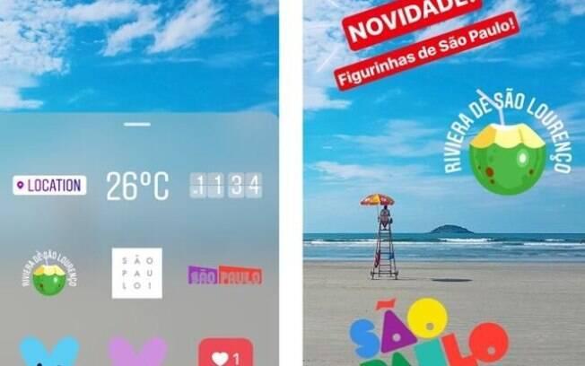 Instagram libera recurso de geostickers para cidade de São Paulo