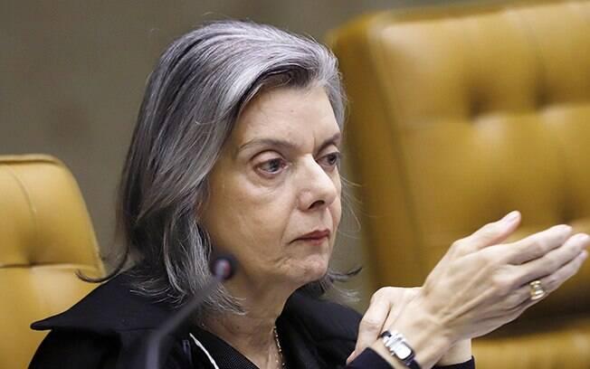 Ministra Cármen Lúcia, do Supremo Tribunal Federal (STF)