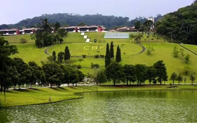 Sede da Confederação Brasileira de Futebol (CBF), na Granja Comary