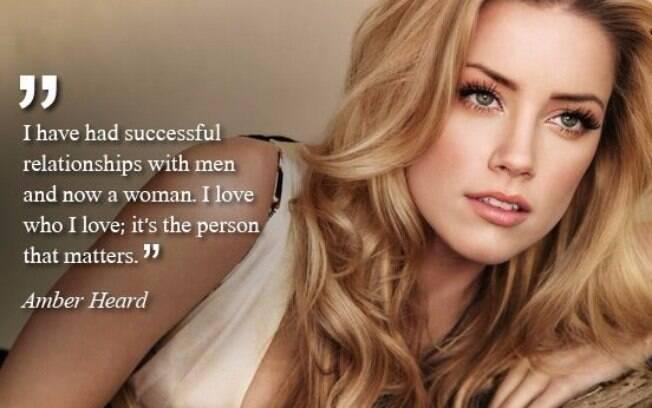 'Já tive relacionamentos com homens e agora com uma mulher. Eu amo quem eu amao, o que importa é a pessoa'