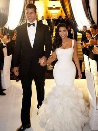 Kim Kardashian e Kris Humphries: festa de casamento custou R$ 17 milhões